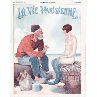 フランスの雑誌表紙 〜LA VIE PARISIENNE〜より(ジョルジュ・レオネック/Georges Léonnec)0165