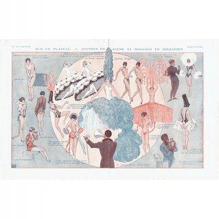 フランスの雑誌挿絵 〜LA VIE PARISIENNE〜より(ジョルジュ・レオネック/Georges Léonnec)0138