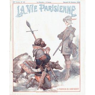 フランスの雑誌表紙 〜LA VIE PARISIENNE〜より(Chéri Hérouard)0168