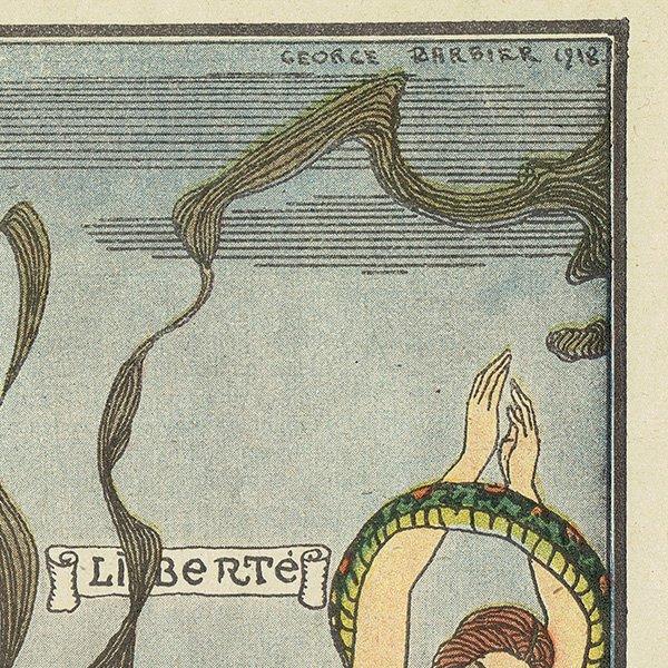 ジョルジュ・バルビエ(George Barbier)フランスの雑誌挿絵 0192