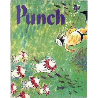 イギリスの風刺雑誌PUNCH(パンチ/クェンティン・ブレイク)1958年8月27日号 0171