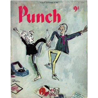 イギリスの風刺雑誌PUNCH(パンチ/クェンティン・ブレイク)1960年11月30日号 0175