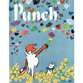 イギリスの風刺雑誌PUNCH(パンチ/クェンティン・ブレイク)1957年7月10日号 0176