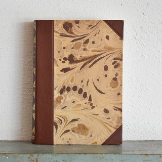デンマーク 北欧 アンティークブック 古い洋書 ディスプレイ042