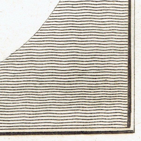 観相学 シルエットアンティークプリント ラヴァーター(Johann Caspar Lavater) 1804年 #066