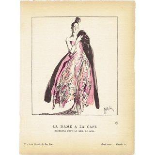 ガゼット・デュ・ボントン La Gazette du bon ton 1921 n°3 Pl.23 #002