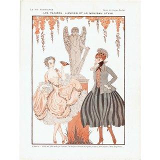 ジョルジュ・バルビエ(George Barbier)フランスの雑誌挿絵 〜LA VIE PARISIENNE〜より 0194