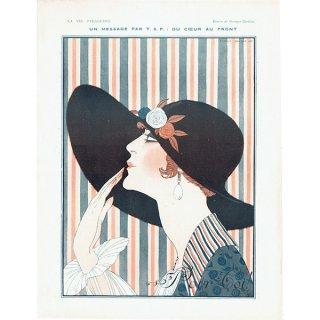 ジョルジュ・バルビエ(George Barbier)フランスの雑誌挿絵 〜LA VIE PARISIENNE〜より 0195