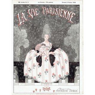 ジョルジュ・バルビエ(George Barbier)フランスの雑誌挿絵 〜LA VIE PARISIENNE〜より 0196