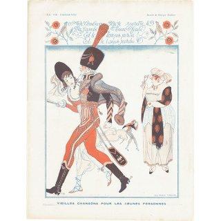 ジョルジュ・バルビエ(George Barbier)フランスの雑誌挿絵 〜LA VIE PARISIENNE〜より 0197
