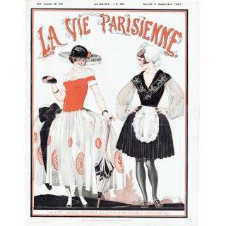 フランスの雑誌表紙 〜LA VIE PARISIENNE〜より(ルネ・ヴィンセント/René Vincent)0205