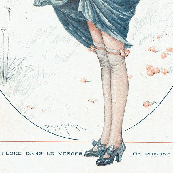 フランスの雑誌挿絵 〜LA VIE PARISIENNE〜より(モーリス・ミリエール/Maurice Milliere)0206