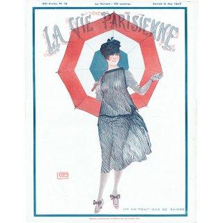 フランスの雑誌表紙 〜LA VIE PARISIENNE〜より(ジョルジュ・レオネック/Georges Léonnec)0209