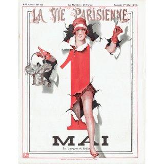 フランスの雑誌表紙 〜LA VIE PARISIENNE〜より(ジョルジュ・レオネック/Georges Léonnec)0211