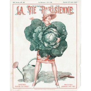 フランスの雑誌表紙 〜LA VIE PARISIENNE〜より(シェリ・エルアール/Chéri Hérouard)0214