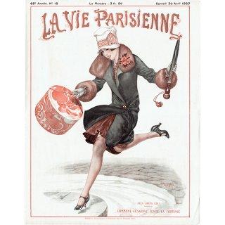 フランスの雑誌表紙 〜LA VIE PARISIENNE〜より(シェリ・エルアール/Chéri Hérouard)0216
