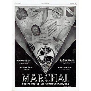 MARCHAL(マーシャル)1928年ヴィンテージ広告 0040
