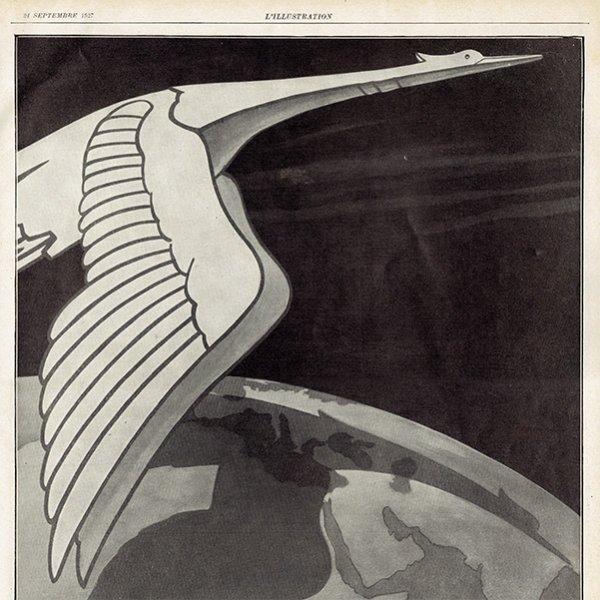 HISPANO-SUIZA(イスパノ・スイザ) 1927年のヴィンテージ広告 0052