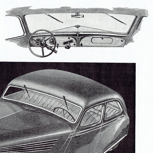 RENAULT(ルノー) 1936年のヴィンテージカー広告 0053