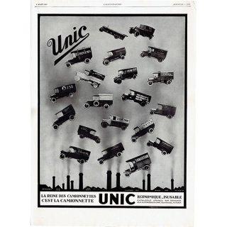 Unic(ユニック)1929年 フレンチヴィンテージ広告  0060