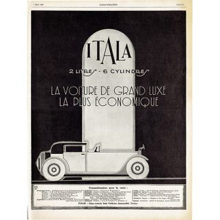 ITALA(イタラ)1927年 フレンチヴィンテージ広告  0065