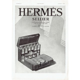 Hermès(エルメス)のクルーズ旅行用グッズのヴィンテージ広告 1930年 0189