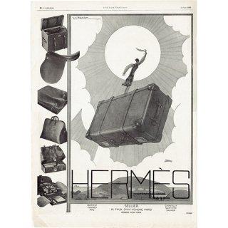 Hermès(エルメス)のラグジュアリーアイテムのヴィンテージ広告 1926年 0191