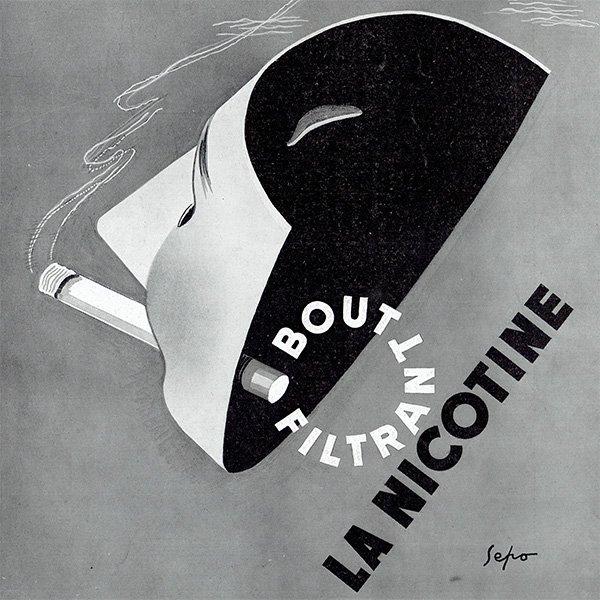 ANIC CIGARETTES(たばこ)のヴィンテージ広告 SEPO 1938年 0196