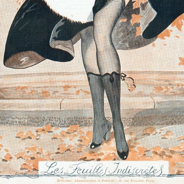 フランスの雑誌表紙 〜LA VIE PARISIENNE〜(ジョルジュ・レオネック/Georges Léonnec)0246