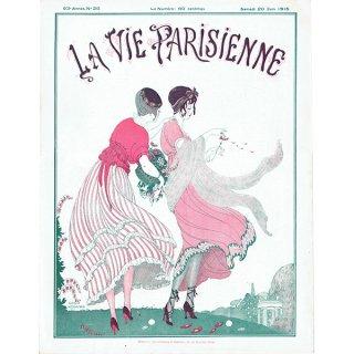 ゲアダ・ヴィーイナ(Gerda Wegener)フランスの雑誌表紙 〜LA VIE PARISIENNE〜より 0248