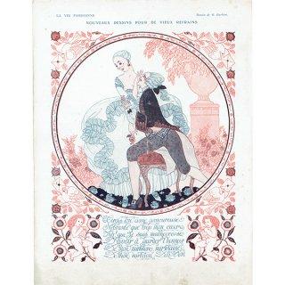 ジョルジュ・バルビエ(George Barbier)フランスの雑誌挿絵 〜LA VIE PARISIENNE〜より 0249
