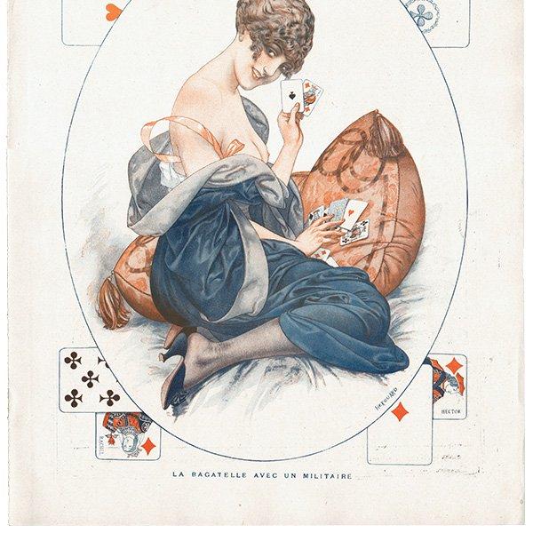 フランスの雑誌挿絵 〜LA VIE PARISIENNE〜より(シェリ・エルアール/Chéri Hérouard)0256