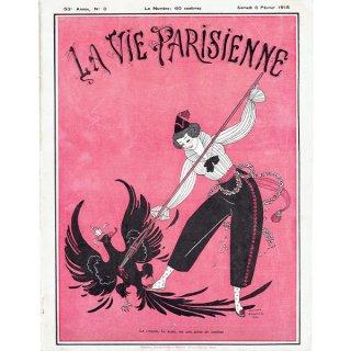 ジョルジュ・バルビエ(George Barbier)フランスの雑誌表紙 〜LA VIE PARISIENNE〜より 0257