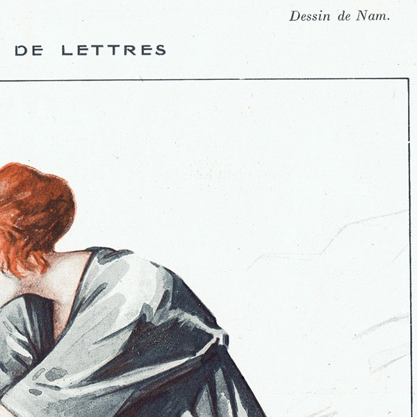フランスの雑誌挿絵 〜LA VIE PARISIENNE〜より(Jacques Lehmann Nam)0259