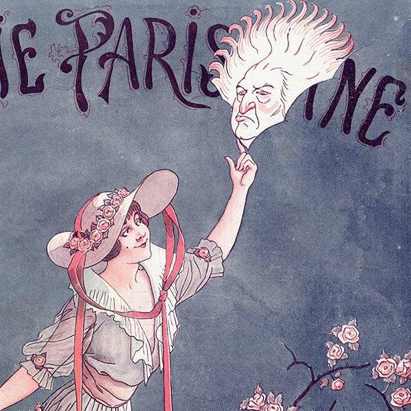 フランスの雑誌表紙 〜LA VIE PARISIENNE〜より アンリ・ジェルボー(Henry Gerbault) 0261
