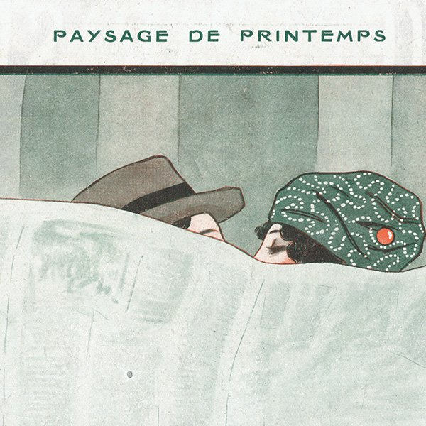フランスの雑誌挿絵 〜LA VIE PARISIENNE〜より (Joseph Kuhn-Régnier)0263