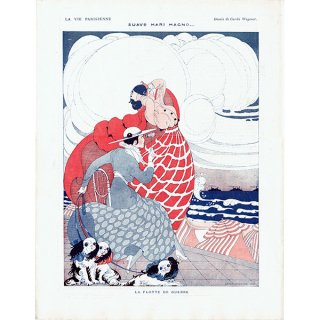ゲアダ・ヴィーイナ(Gerda Wegener)フランスの雑誌挿絵 〜LA VIE PARISIENNE〜より 0264