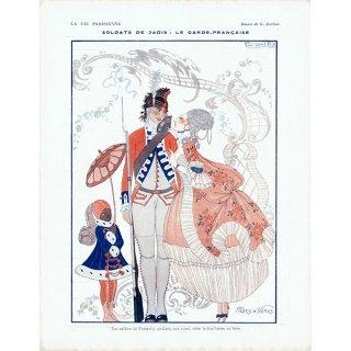 ジョルジュ・バルビエ(George Barbier)フランスの雑誌挿絵 〜LA VIE PARISIENNE〜より 0265