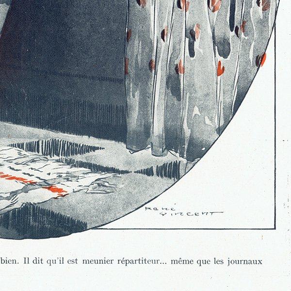 フランスの雑誌挿絵 〜LA VIE PARISIENNE〜より(ルネ・ヴィンセント/René Vincent)0269