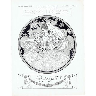 ジョルジュ・バルビエ(George Barbier)フランスの雑誌挿絵 〜LA VIE PARISIENNE〜より 0273