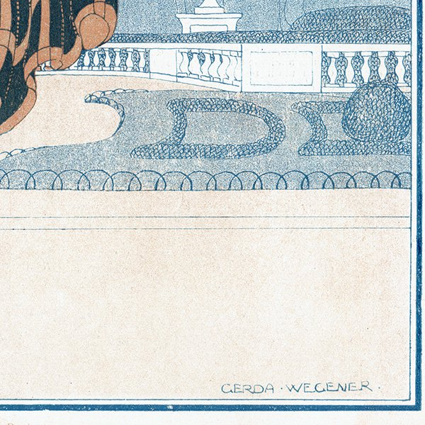ゲアダ・ヴィーイナ(Gerda Wegener)フランスの雑誌表紙 〜LA VIE PARISIENNE〜より 0278