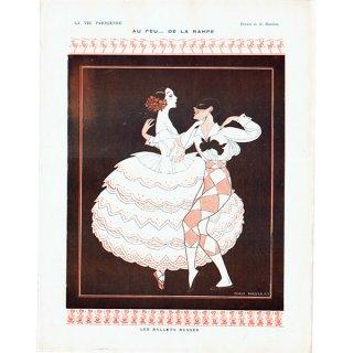 ジョルジュ・バルビエ(George Barbier)フランスの雑誌挿絵 〜LA VIE PARISIENNE〜より 0280