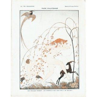 ジョルジュ・バルビエ(George Barbier)フランスの雑誌挿絵 〜LA VIE PARISIENNE〜より 0284