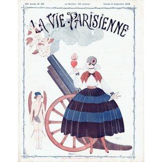 ジョルジュ・バルビエ(George Barbier)フランスの雑誌表紙 〜LA VIE PARISIENNE〜より 0286