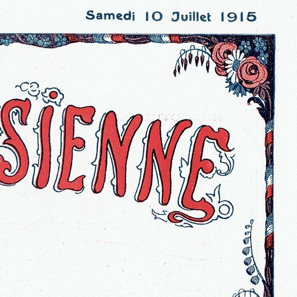 ゲアダ・ヴィーイナ(Gerda Wegener)フランスの雑誌表紙 〜LA VIE PARISIENNE〜より 0287