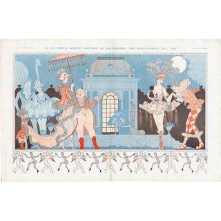 ジョルジュ・バルビエ(George Barbier)フランスの雑誌挿絵 〜LA VIE PARISIENNE〜より 0290