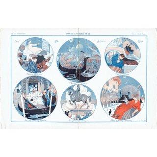 フランスの雑誌挿絵 〜LA VIE PARISIENNE〜より(ゲアダ・ヴィーイナ/Gerda Wegener)0296