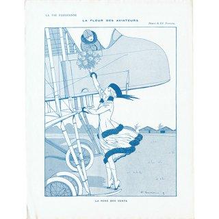 フランスの雑誌挿絵 〜LA VIE PARISIENNE〜より(Edouard Touraine)0303