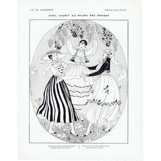 ジョルジュ・バルビエ(George Barbier)フランスの雑誌挿絵 〜LA VIE PARISIENNE〜より0308