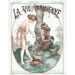 フランスの雑誌表紙 〜LA VIE PARISIENNE〜より(シェリ・エルアール/Chéri Hérouard)0309
